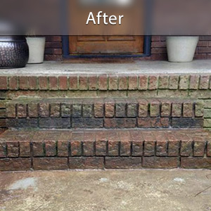 Sinking stairs repaired with PolyLevel® Cincinnati