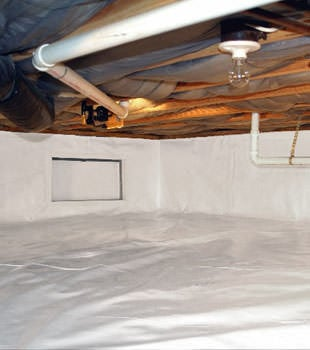 crawl space repair system in Cincinnati