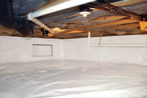Crawl Space Repair After in Dayton