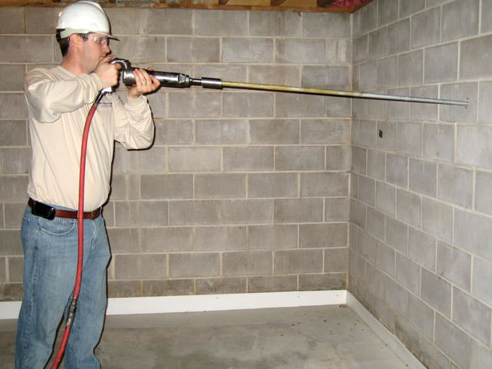 bowing foundation wall repairs in ohio and indiana buckling