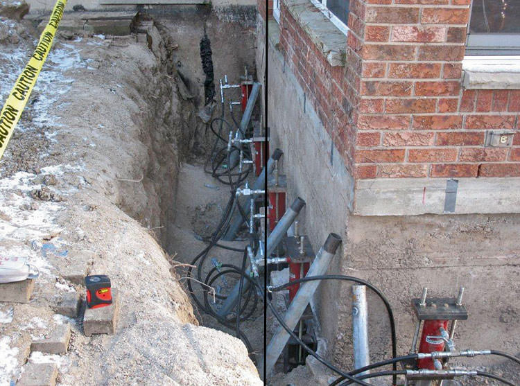 Foundation Pier Systems In Ohio and Indiana | Foundation