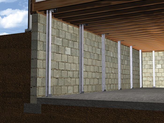 The PowerBrace Wall Repair System Installation in Ohio and