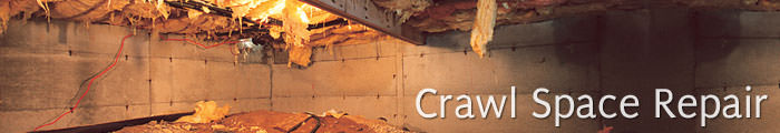 Crawl Space Repair in OH and IN, including Middletown, Hamilton & Cincinnati.