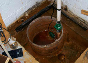 Extreme clogging and rust in a Mason sump pump system