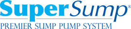 Logo for our SuperSump® Pump System, available in Middletown and other parts of Ohio and Indiana