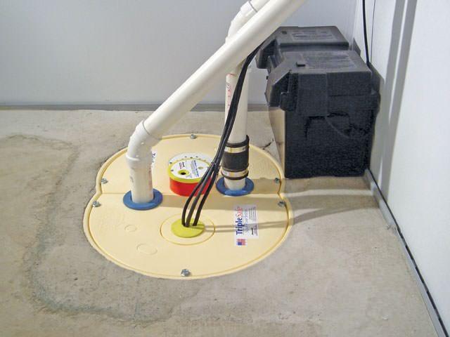 ... Basement Sump Pump Installed In Cincinnati ...