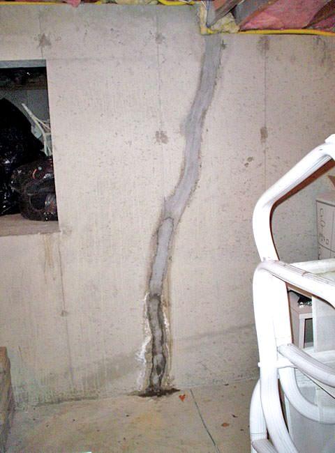 Basement Floor Amp Wall Crack Repair Contractor In