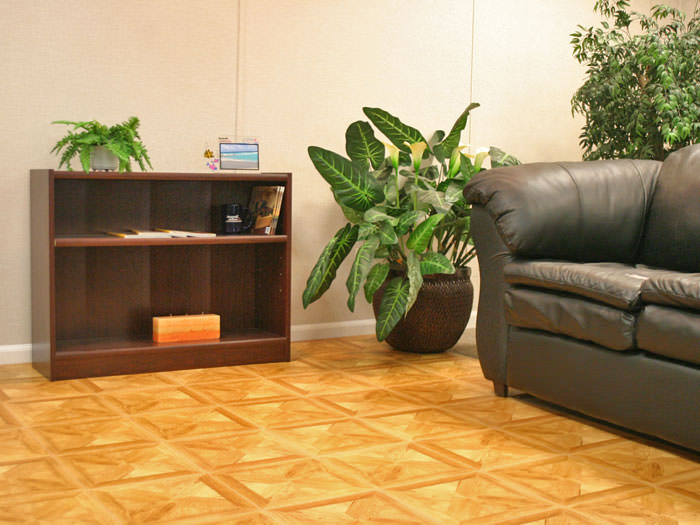 ... Flooring With A Parquet Tile Design Installed In West Chester, Ohio And  Indiana