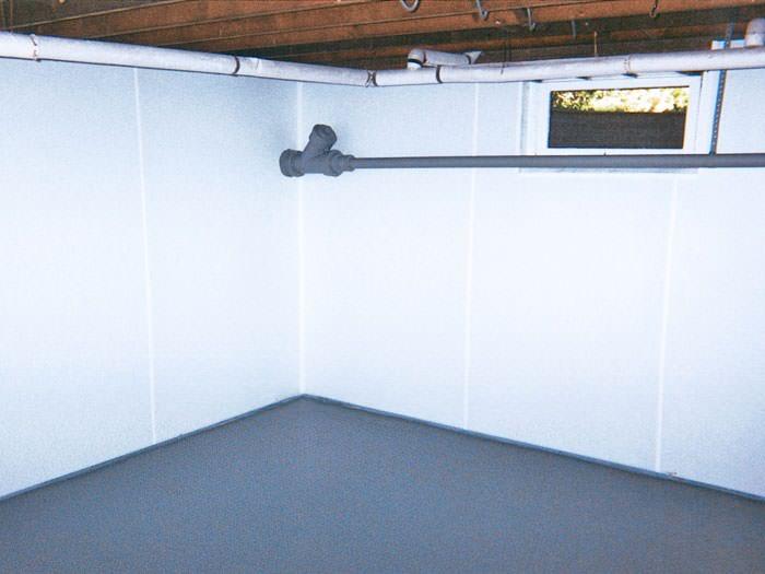 basement wall covering in cincinnati dayton hamilton wet basement