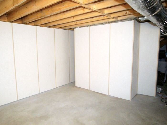 Basement Wall Panels Cost Part - 22: ... Panel System · Fiberglass Insulated Basement Wall System In Troy, OH  And IN